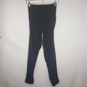 Nike Pants - Nike Blue Black Stretchy Fitness Capri Leggings